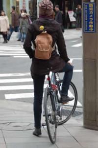 自転車通勤ファッションや ...