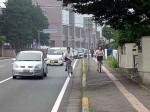この道  自転車ならどこを通る? 1