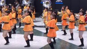京都橘高校吹奏楽部 楽器フェア2018