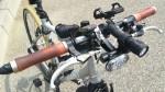 クロスバイク デイライトで昼間の被視認性向上2