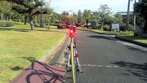 クロスバイク デイライトで昼間の被視認性向上5