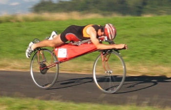 自転車向かい風