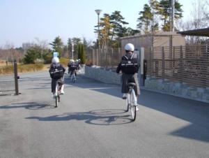 自転車通学 中学生
