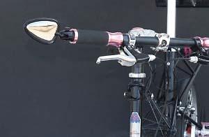 自転車用バックミラー