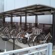 ホームセンターの駐輪場のイメージ